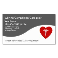 Male dementia companion card blue border dementia and business cards caregiver business cards make your own business card with this great design all you need is to add your info to this template reheart Choice Image