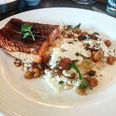 Salt-Baked King Salmon vadouvan chickpea cauliflower at #americarestaurant @trumpcollection @oliverbonacini with @gbunarto  #theartofplating #wildchefs #foodporn #foodie #food #instafood #instagood #delicious #chewdoin #canada #toronto #gastronomy #gastroart #chefsofinstagram #cheflife #finedining #picoftheday #instadaily #foodgasm  #liciousto #summerlicious #oblicious #blogtolicious by michael_badger