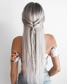 Love this twisted/braid combo