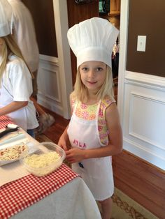 Cooking party. Kids can make individual pizzas with all the toppings they like.