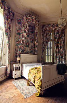 Château de la forêt, Belgium. Guest Room by Arnaud Velter
