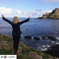 "#Repost @mgiff26 ""Wherever you go becomes a part of you somehow"" #ispyAPI #apidublin #studyabroad #giantscauseway #apiabroad"