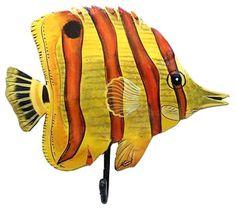 peces pintados en madera - Buscar con Google