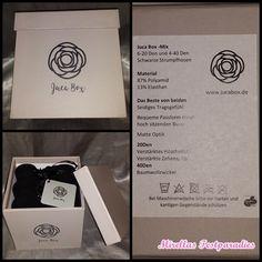 Die Juca Box - Feinstrumpfhosen nach Hause bestellen | Mirellas Testparadies