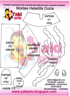 Fofucha Heladita dulce de Yakiarts 1