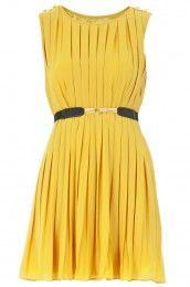Suncoo Pleated Dress