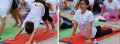 108 Saludos al Sol en mi nueva estera de yoga.