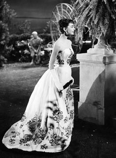 "hepburndeneuvekelly: "" Audrey Hepburn in ""Sabrina"" (1954). "" Perfection!"