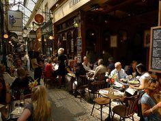 Sample of Paris life at 19th century shopping arcades by Spud Hilton, San Francisco Chronicle