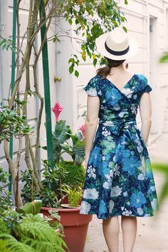 Birds of a Thread: A Colette Crepe in Liberty Floral