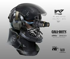 I know we've already looked at art from Infinite Warfare, but this collection of work from Aaron Beck—mostly very cool robots and future space armour—is just too good to let pass us by. Combat Suit, Combat Helmet, Helmet Armor, Suit Of Armor, Paintball, Cod Infinite Warfare, Call Of Duty Infinite, Futuristic Armour, Advanced Warfare