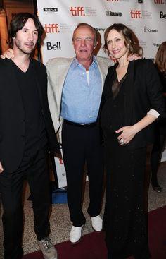 Keanu Reeves, James Caan and Vera Farmiga at TIFF