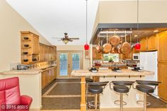 The #OpenFloorPlan of this #Kitchen has been enjoyed by a professional chef for years of creating wonderful meals. Contact me or your #Realtor today to take a closer look! 301.606.3703 michelle.jimbassgroup.com