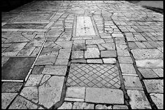 Footpaths of the Acropolis (arch. Dimitris Pikionis, 1951-57),  Athens, Greece.   (photograph by Stephan Zimmerli)