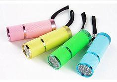 OEM Intsun - Linterna LED don diseño resistente al agua, color negro