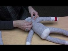 how to make a sock monkey for party favors