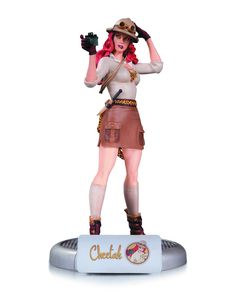 From the depths of the darkest jungle comes Cheetah, the latest in the popular line of DC Comics Bombshells statues! Camera in hand and knife at the ready, Cheetah is ready for whatever action comes h