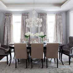 Dining Room Captain Chairs, Contemporary, dining room, Jennifer Brouwer Design