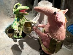 A Clanger and the Soup Dragon
