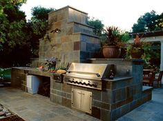 Built-in BBQ's (2)