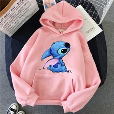 Cute Disney Outfits, Cute Lazy Outfits, Trendy Outfits, Cool Outfits, Lilo And Stitch Hoodie, Lilo Stitch, Lilo And Stitch Clothing, Jugend Mode Outfits, Stylish Hoodies
