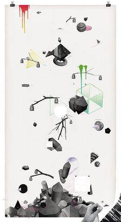 wallpaper - Damien Vignaux is elroy - illustration and motion design