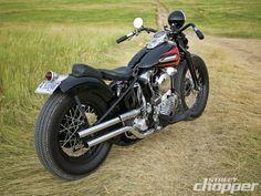 1947 Harley Davidson Knucklehead Bobber