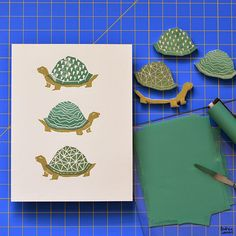 Andrea Lauren: Block Printing Stamps by Andrea Lauren