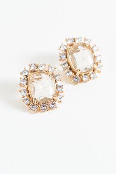 Looking Glass Post Earrings #GerardYosca