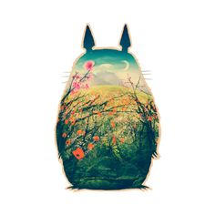 Tonari No Totoro by victorsbeard