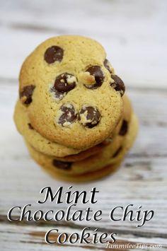 Mint Chocolate Chip Cookie Recipe