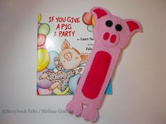 Looking for your next project? You're going to love Pig Book Buddy Animal Bookmark Pattern by designer Storybook Felts. - via @Craftsy