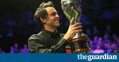 6th title UK Championship 2017 for Rocket Ronnie <3