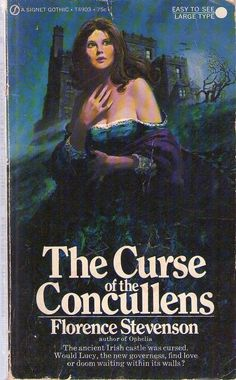 The Curse of the Concullens - Florence Stevenson (Signet Gothic) Paperback
