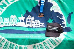 Richmond Half Marathon Swag