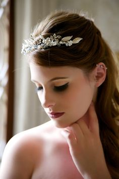 Bridal Headpieces with Old World Glamour from Gilded Shadows