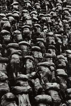 Sebastião Salgado, Gold Mine, Brazil [Backs] from Workers, 1986