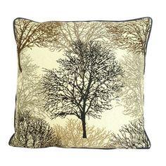 Tree Jaquard Cushion | Dunelm Mill