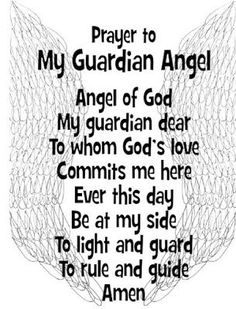 Praying with the Angels: Free printable prayer cards with
