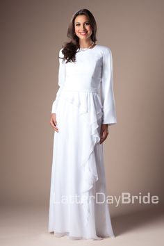 1000 images about white dress ideas on pinterest temple for Mormon temple wedding dresses