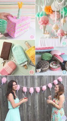 Dessert-Inspired Crafts | With Lovely,