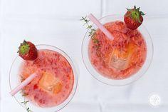 Strawberry-Moskow-Mule | Rezept von feiertäglich.de