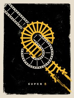 Super 8 - movie poster - David M. Smith