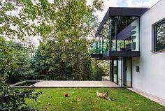 Extension en verre maison