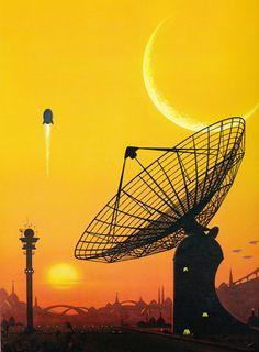 David Hardy · Interstellar Contact