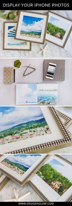 Use the Waterlogue App to turn your iPhone photos into Fine Art Prints. #designaglowhttp://www.designaglow.com/blogs/design-aglow/17440104-personal-project-travel-iphone-photography-a-fab-display