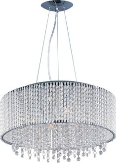 Buy the Polished Chrome Direct. Shop for the Polished Chrome Spiral 10 Light Pendant and save. Drum Pendant, Drum Chandelier, Round Pendant, Crystal Pendant, Pendant Lighting, Light Pendant, Chandeliers, Crystal Beads, Ceiling Pendant