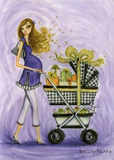 199 best papyrus cards images on pinterest in 2018 papyrus cards papyrus art by bella pilar is spot on baby shower filmwisefo