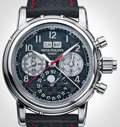 Patek Philippe Creates Unique 5004 Split-Seconds Perpetual Calendar In Titanium For Only Watch 2013 Fitness Watches For Women, Best Watches For Men, Luxury Watches For Men, Cool Watches, Unique Watches, Affordable Watches, Expensive Watches, Patek Philippe, Audemars Piguet