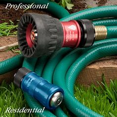 High Performance Watering Nozzles Long life USA made Nozzles Flow capacity up to 200psi